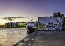 Μεγάλο τετράγωνο καναλιών, Δουβλίνο Στοκ Εικόνες