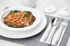 Μεγάλο τηγανισμένο θαλασσινά ρύζι 16 γούστου Στοκ εικόνες με δικαίωμα ελεύθερης χρήσης
