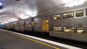 Μεγάλο τραίνο στο Σίδνεϊ Στοκ φωτογραφία με δικαίωμα ελεύθερης χρήσης