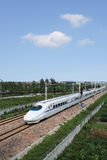 Μεγάλο τραίνο της Κίνας Στοκ Εικόνα