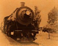 Μεγάλο τραίνο Grunge φαραγγιών - ηλικίας στοκ φωτογραφίες