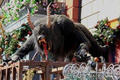 Μεγάλο τρομακτικό ζωικό γλυπτό Στοκ φωτογραφία με δικαίωμα ελεύθερης χρήσης