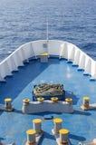 Μεγάλο τόξο σκαφών στην ανοικτή θάλασσα Στοκ εικόνες με δικαίωμα ελεύθερης χρήσης