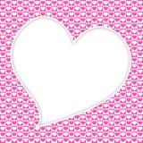 Μεγάλο υπόβαθρο καρδιών Στοκ φωτογραφία με δικαίωμα ελεύθερης χρήσης