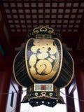 Μεγάλο φανάρι του ναού Senso-senso-ji στην Ιαπωνία Στοκ Εικόνες
