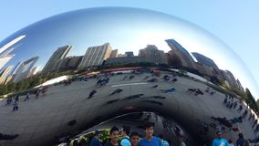 Μεγάλο φασόλι του Σικάγου Στοκ φωτογραφία με δικαίωμα ελεύθερης χρήσης