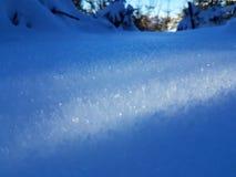μεγάλο χιόνι κρυστάλλων &alpha Στοκ φωτογραφία με δικαίωμα ελεύθερης χρήσης