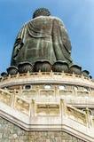 Μεγάλο Χονγκ Κονγκ του Βούδα Στοκ Εικόνες