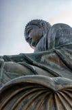 Μεγάλο Χονγκ Κονγκ του Βούδα Στοκ φωτογραφία με δικαίωμα ελεύθερης χρήσης
