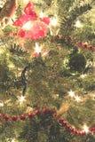 Μεγάλο χριστουγεννιάτικο δέντρο Στοκ φωτογραφία με δικαίωμα ελεύθερης χρήσης