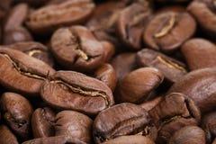 Μεγάλο arabica υπόβαθρο φασολιών καφέ Στοκ εικόνα με δικαίωμα ελεύθερης χρήσης