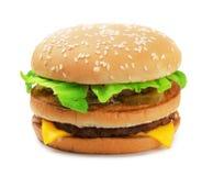 μεγάλο burger Στοκ φωτογραφία με δικαίωμα ελεύθερης χρήσης