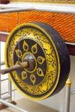 μεγάλο gong Στοκ εικόνες με δικαίωμα ελεύθερης χρήσης
