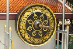 μεγάλο gong Στοκ Φωτογραφίες