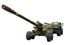 Μεγάλο howitzer caliber Στοκ εικόνες με δικαίωμα ελεύθερης χρήσης
