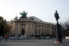 Μεγάλο Palais (μεγάλο παλάτι) στο Παρίσι, Γαλλία Στοκ εικόνα με δικαίωμα ελεύθερης χρήσης