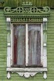 μεγάλο rostov Παράθυρο με χαρασμένος architraves Στοκ εικόνες με δικαίωμα ελεύθερης χρήσης