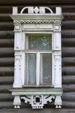 μεγάλο rostov Παράθυρο με χαρασμένος architraves Στοκ Φωτογραφία