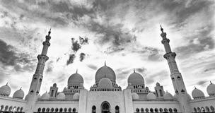 μεγάλο sheikh μουσουλμανικώ Στοκ Φωτογραφίες