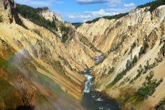 μεγάλο yellowstone ποταμών φαραγγι Στοκ φωτογραφίες με δικαίωμα ελεύθερης χρήσης