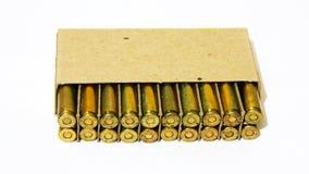 Μεγέθη 5 σφαίρα τουφεκιών 56 χιλ. Στοκ φωτογραφίες με δικαίωμα ελεύθερης χρήσης
