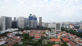 Μεγέθυνση από την άποψη πόλεων απόθεμα βίντεο