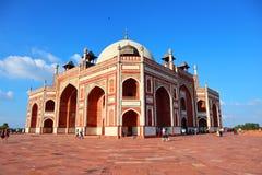 Μεγαλείο του τάφου ιστορικού Humayun μνημείων στο Νέο Δελχί - εικόνα στοκ φωτογραφία με δικαίωμα ελεύθερης χρήσης
