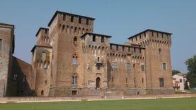 Μεγαλοπρεπές κάστρο Αγίου George σε Mantua απόθεμα βίντεο