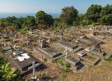 ΜΕΓΑΛΟ ΝΗΣΙ, ΧΑΒΑΗ, ΗΠΑ - 28 ΔΕΚΕΜΒΡΊΟΥ 2013: νεκροταφείο Honauna Στοκ εικόνες με δικαίωμα ελεύθερης χρήσης