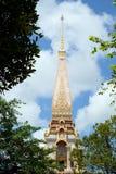 Μεγαλύτερος ναός Chalong Chaithararam Phuket Wat στοκ εικόνες