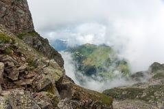 Μεγαλύτερο βουνό Caucausus Στοκ Εικόνες
