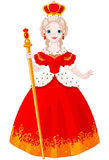 Μεγαλοπρεπής βασίλισσα Στοκ φωτογραφία με δικαίωμα ελεύθερης χρήσης