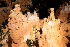 Μεγαλοπρεπείς σχηματισμοί βράχου στο φαράγγι Ν του Bryce Π Στοκ Εικόνα