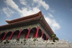 Μεγαλύτερος κινεζικός ναός Στοκ εικόνα με δικαίωμα ελεύθερης χρήσης