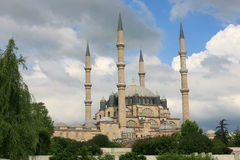 μεγαλύτερο μουσουλμανικό τέμενος selimiye Τουρκία edirne Στοκ εικόνες με δικαίωμα ελεύθερης χρήσης