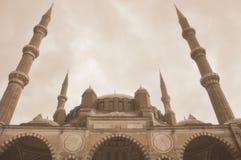 μεγαλύτερο μουσουλμανικό τέμενος selimiye Τουρκία edirne Στοκ Φωτογραφία