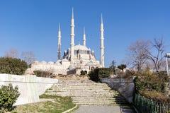 μεγαλύτερο μουσουλμανικό τέμενος selimiye Τουρκία edirne Στοκ φωτογραφία με δικαίωμα ελεύθερης χρήσης