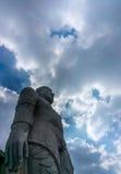Μεγαλύτερο monolitic άγαλμα Bahubali Gomateswara Στοκ εικόνες με δικαίωμα ελεύθερης χρήσης
