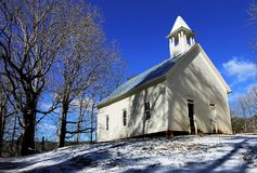 Μεθοδιστής εκκλησία όρμων Cades Στοκ φωτογραφία με δικαίωμα ελεύθερης χρήσης