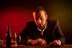 Μεθυσμένος επιχειρηματίας Στοκ Εικόνα