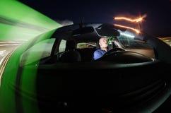 Μεθυσμένος οδηγός Στοκ Φωτογραφία