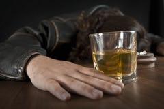 μεθυσμένο άτομο Στοκ εικόνα με δικαίωμα ελεύθερης χρήσης