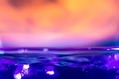 Μεθυλιωμένο πνεύμα στην πυρκαγιά Στοκ Φωτογραφίες