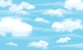 Μεθύστακας σύννεφων διάνυσμα Στοκ Φωτογραφίες