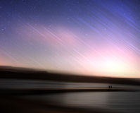 Μειωμένα αστέρια στον άγνωστο πλανήτη Στοκ φωτογραφίες με δικαίωμα ελεύθερης χρήσης