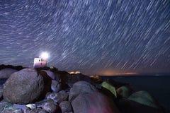 μειωμένα αστέρια Στοκ Εικόνα