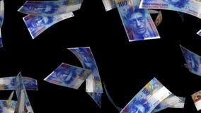Μειωμένα ελβετικά φράγκα (μεταλλίνη βρόχων) ελεύθερη απεικόνιση δικαιώματος