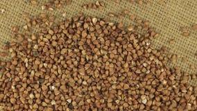 Μειωμένα σιτάρια του φαγόπυρου περιστρεφόμενο burlap υφασμάτων φιλμ μικρού μήκους