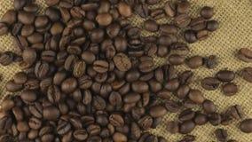 Μειωμένα φασόλια καφέ περιστρεφόμενο burlap υφασμάτων φιλμ μικρού μήκους