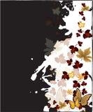 μειωμένα φύλλα ανασκόπησης Στοκ Εικόνα